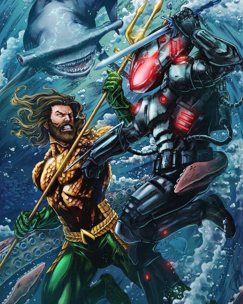 Pin by Raphael Riche on Aquaman Art Study Aquaman comic