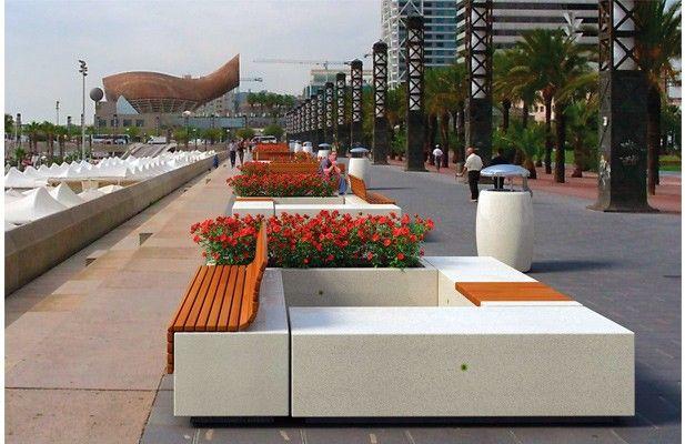 mobiliario urbano pesquisa google seater pinterest
