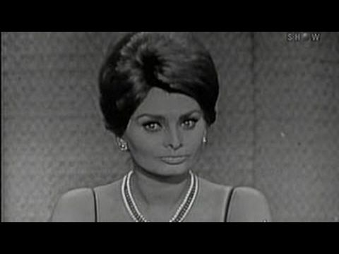 What's My Line? - Sophia Loren; Johnny Carson [panel] (May 28, 1961)
