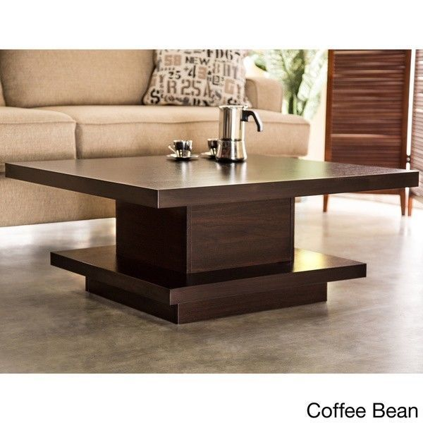 Japanese Coffee Table Living Room Centerpiece Modern Brown Furniture