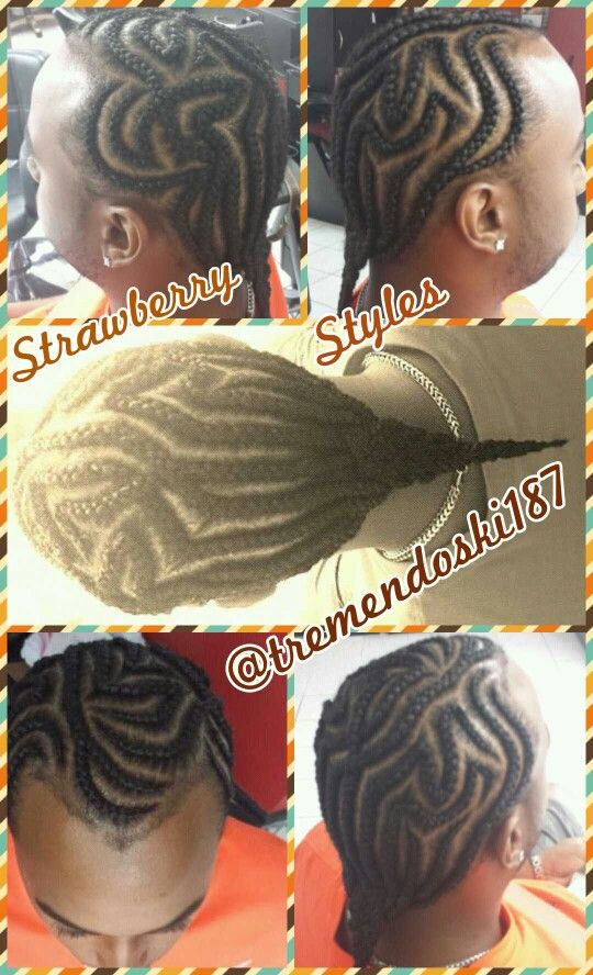 Terrific Gotbraidz 2 Braids Cornrows Iverson For Men Women And Children Hairstyles For Men Maxibearus