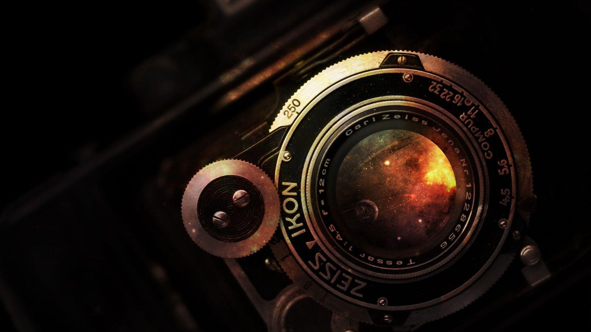 Download Wallpaper 1920x1080 Camera Lens Vintage Rarity Nikon