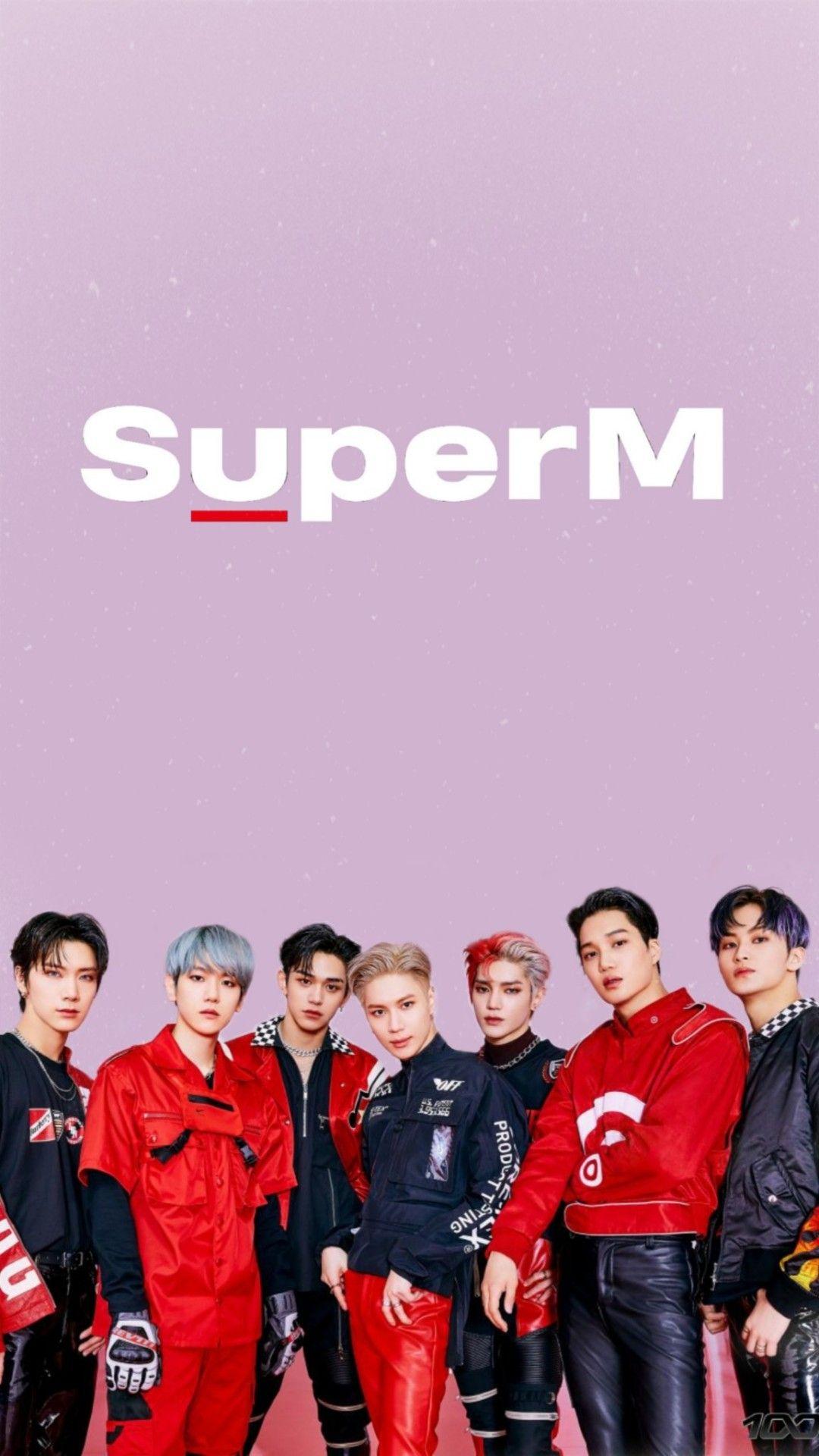 K Wallpaper Super M Superm Kpop Super Lucas Nct