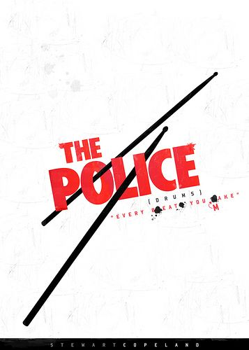 https://flic.kr/p/5nxyRw | Every Beat You Make | THE POLICE  Stewart Copeland (Drums)