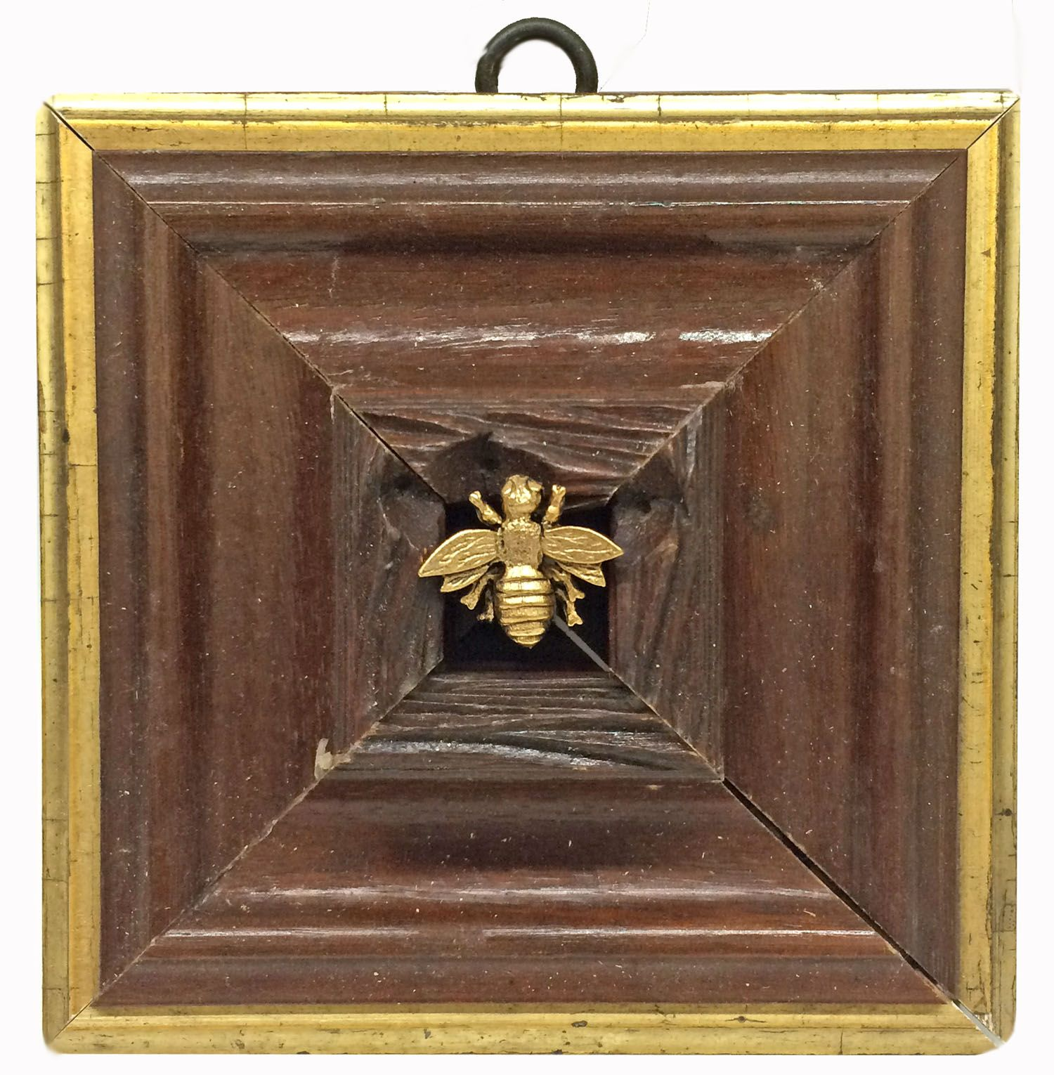 6fef925d0ca Museum Bees by Trace Mayer. Made with Antique American Frame. Gilt Brass  Napoleonic Ormolu Bee.