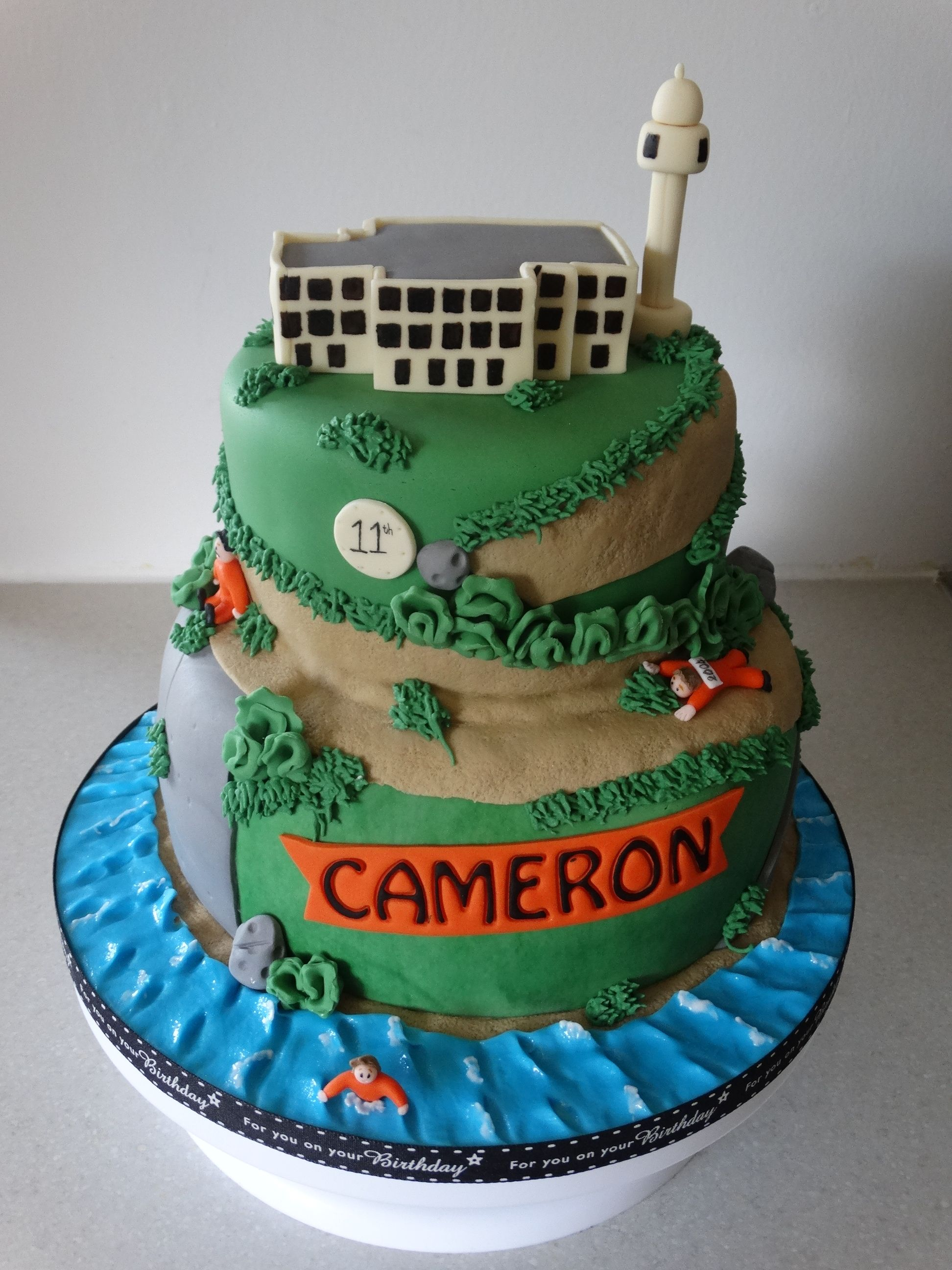 Alcatraz Prison Themed Cake Xmcx San Francisco Party In 2018
