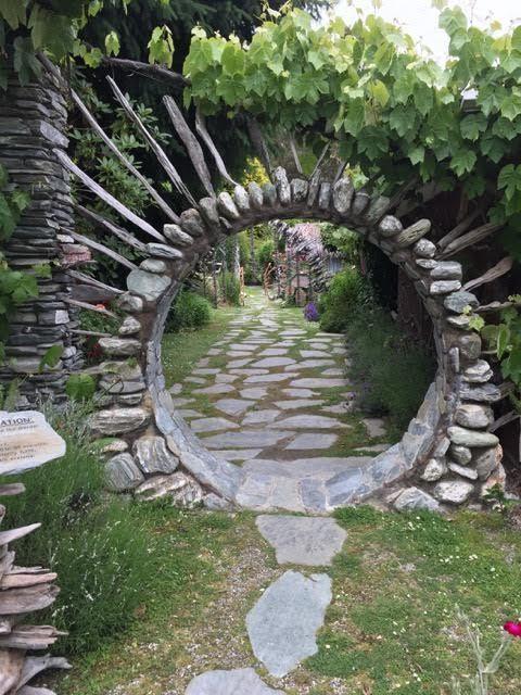 moongate – Blumen Natur Ideen #japanesecrafts