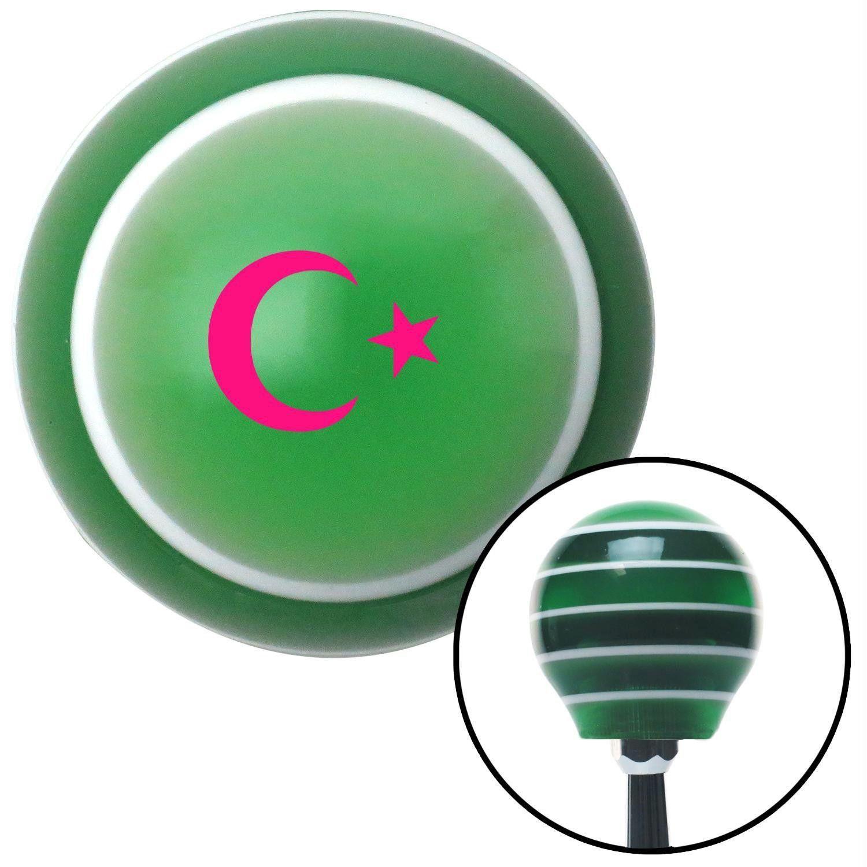 Pink symbol of islam green stripe shift knob with m16 x 15 insert pink symbol of islam green stripe shift knob with m16 x 15 insert buycottarizona Gallery