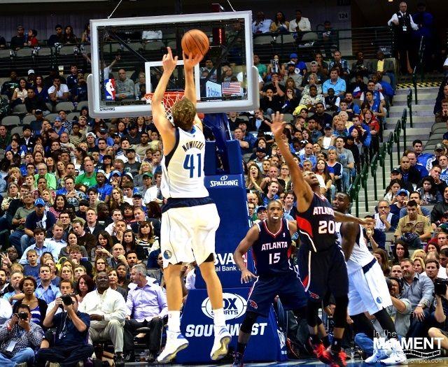 Dallas Mavericks Dirk Nowitzki Passes Jerry West on the