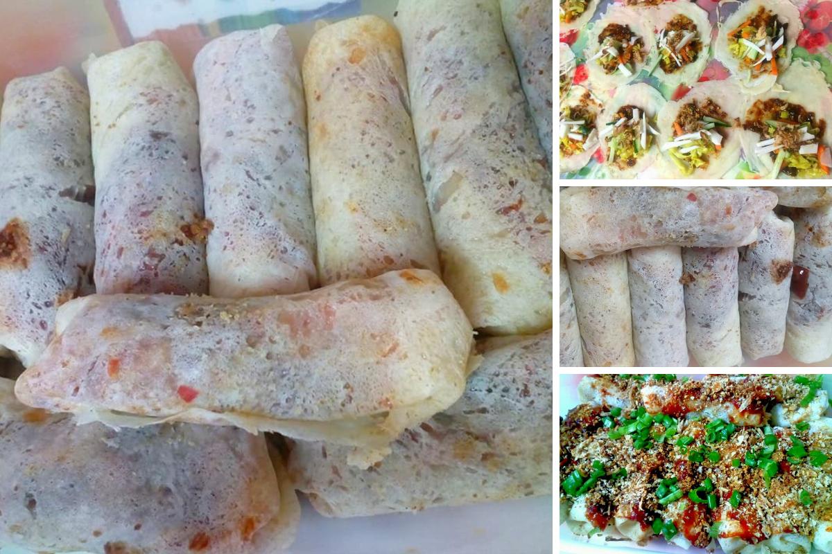 Cara Cara Membuat Kulit Sos Dan Inti Popia Basah Yang Sangat Mudah Dan Pastinya Sedap Sesuai Buat Secara Homemade Cubalah Homemade Chinese Dessert Sambal