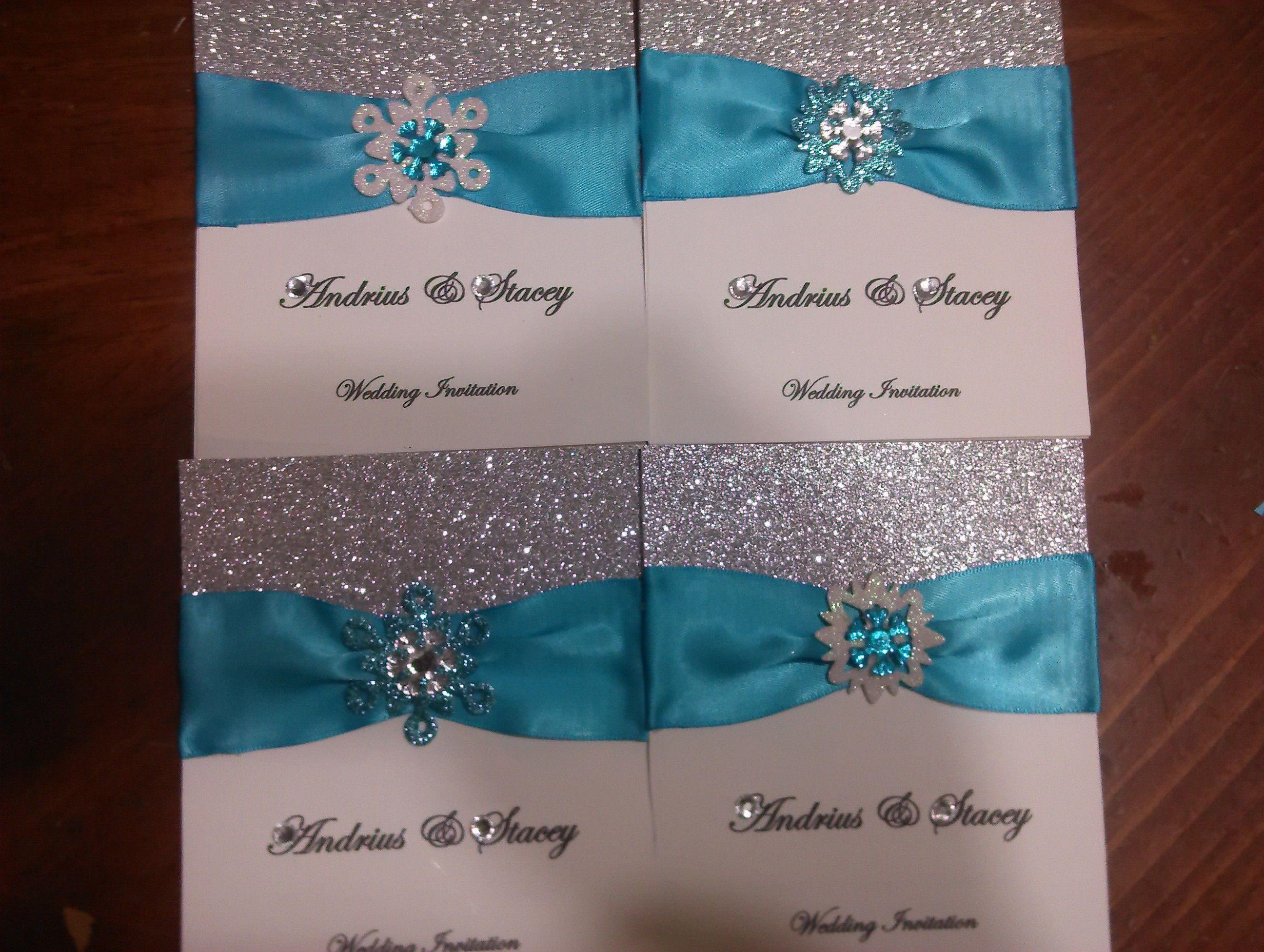 Winter Themed Wedding Invitations: . #DIY_winter_wedding_invitation_kits #Top_winter_wedding