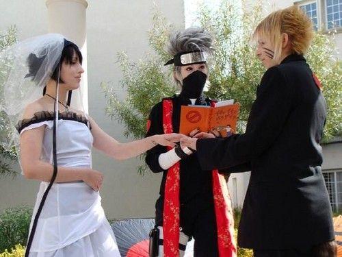 Cosplay Marriage Koi Cosplay Sasunaru S Wedding Naruto