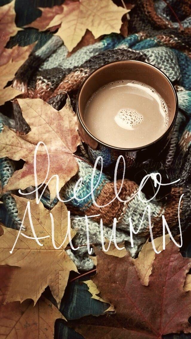 Autumn background wallpaper #helloautumn