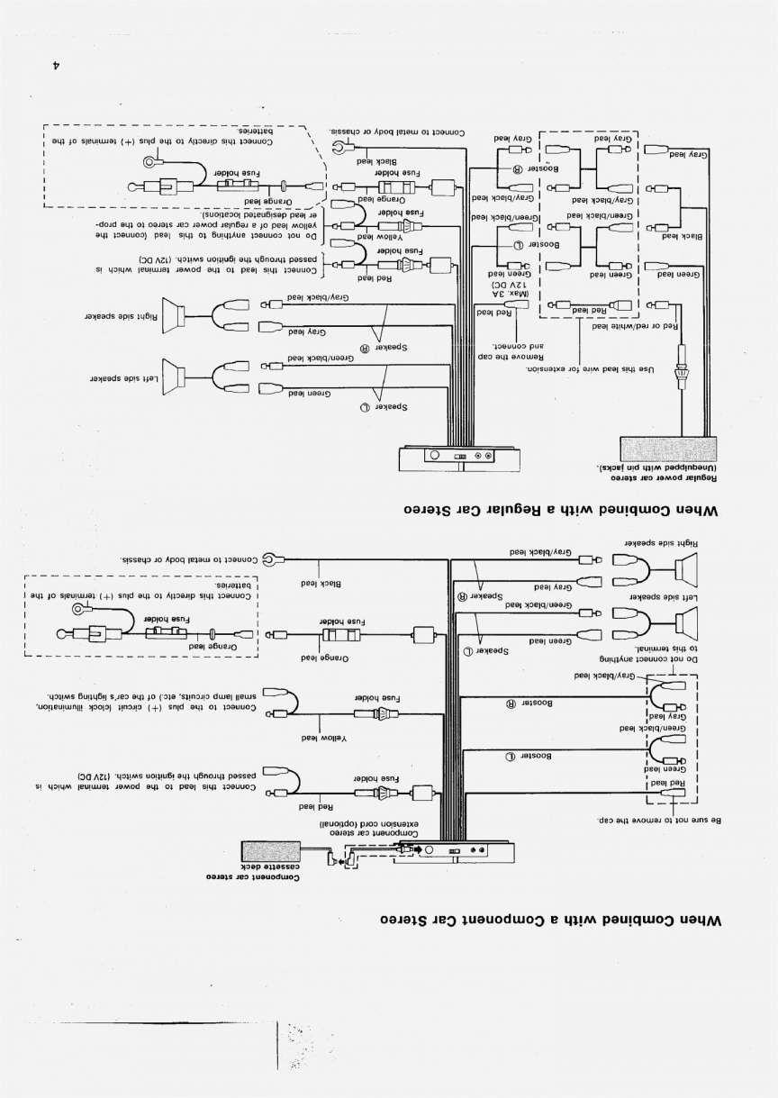 15 Pioneer Car Stereo Wiring Diagram Car Diagram Wiringg Net O To
