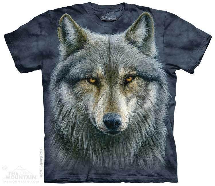 adb8f7b46f The Mountain Wolf T-shirt   Find 13 Wolves, Hidden Image T-shirts by The  Mountain, 103449   Wolves   Wolf hoodie, Wolf t shirt, Shirts