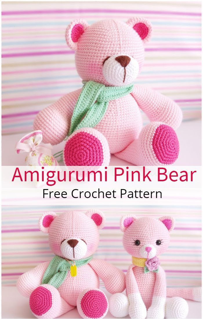 130+ Glorious Crochet Teddy Bear Easy Free Patterns - Diy And Crafts #crochetbear 130+ Glorious Crochet Teddy Bear Easy Free Patterns - Diy And Crafts