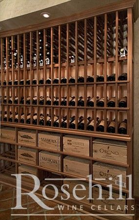 Custom Winecellar Built With Elegant Presentation Wine Racking Winestorage Wine Cellar Home Wine Cellars Wine Rack