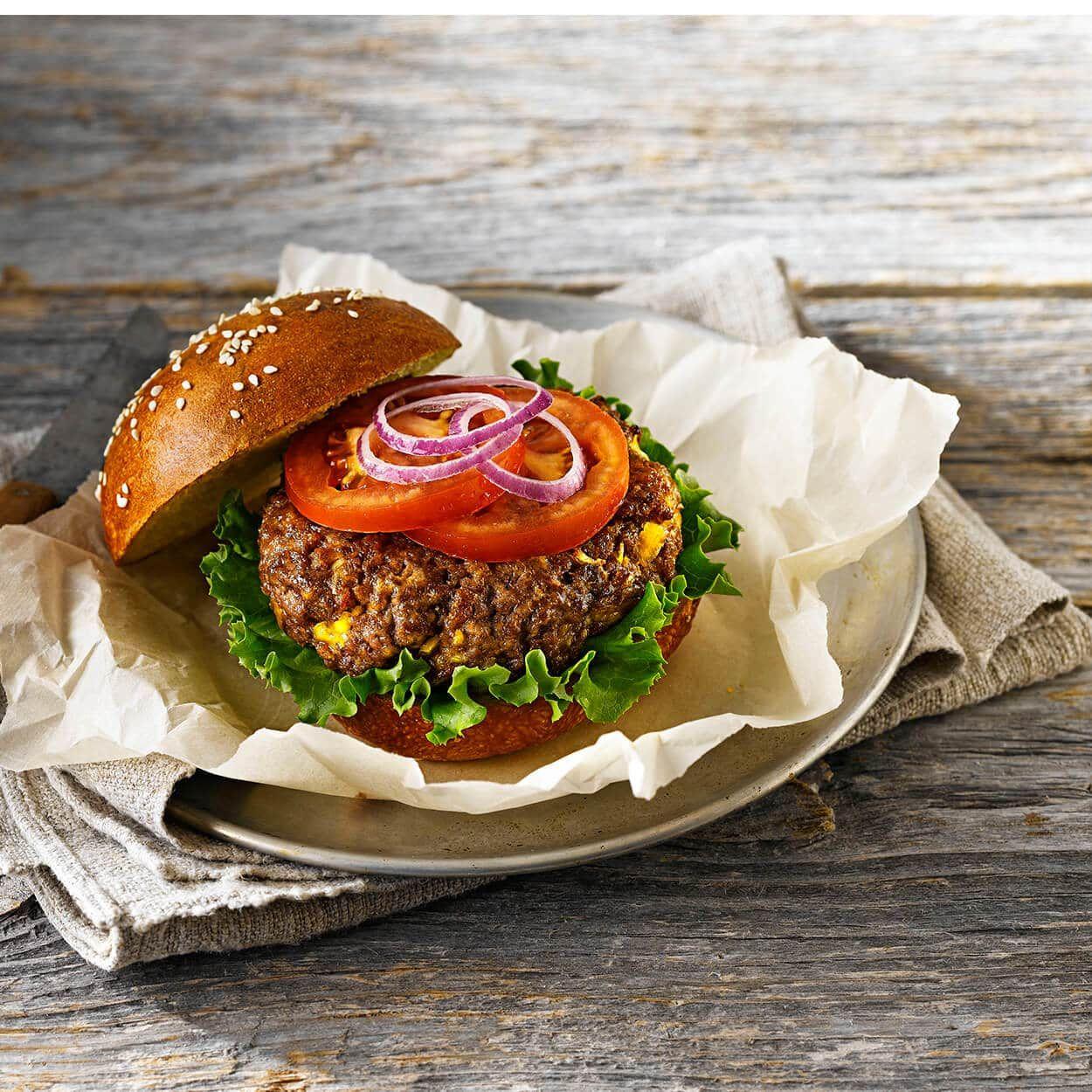 L'ultime burger | Recette | Recette, Idée recette, Repas simple