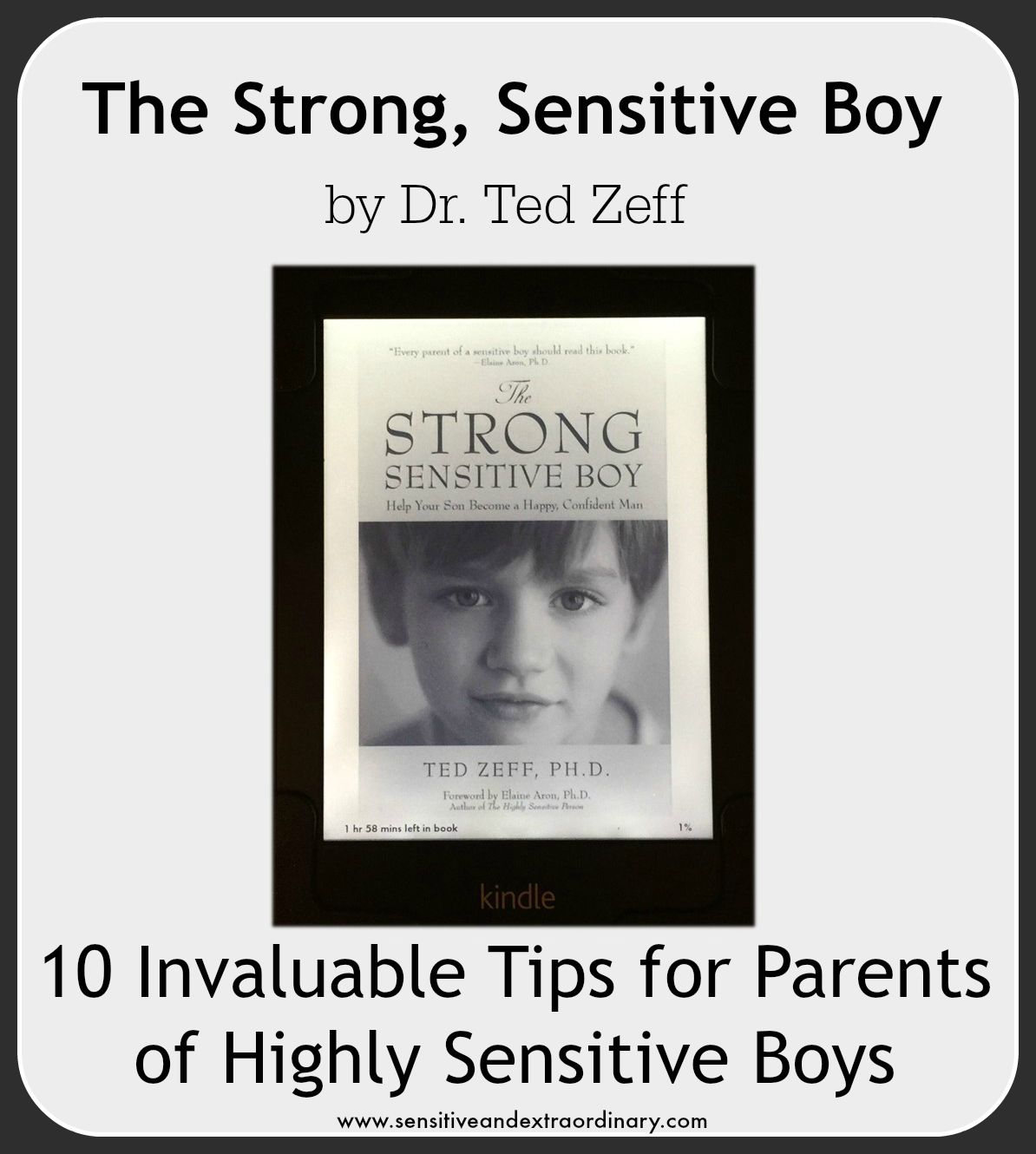 10 Tips For Parents Of Highly Sensitive Boys From Dr Ted