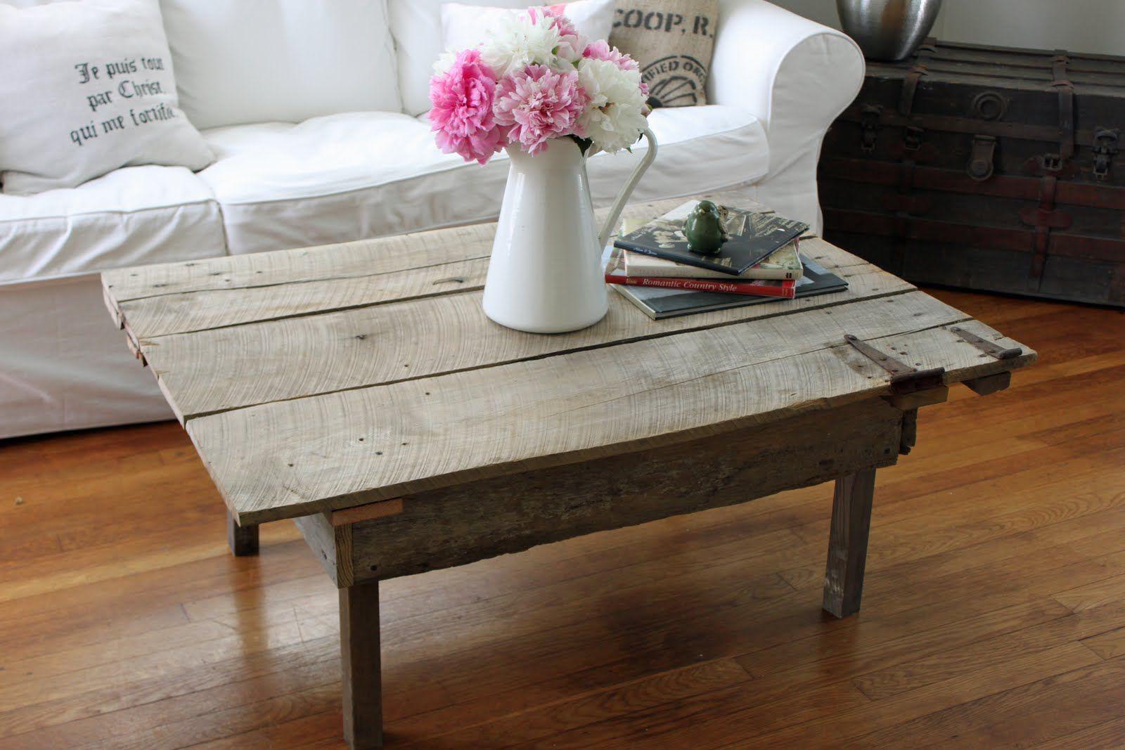 - DIY Barn Door Coffee Table Door Coffee Tables, Door Table, Old