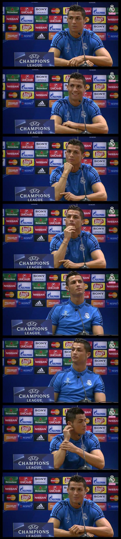 Cristiano Ronaldo, rueda de prensa HQ.