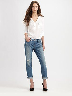 J Brand - Slouchy Boy Jeans - Saks.com