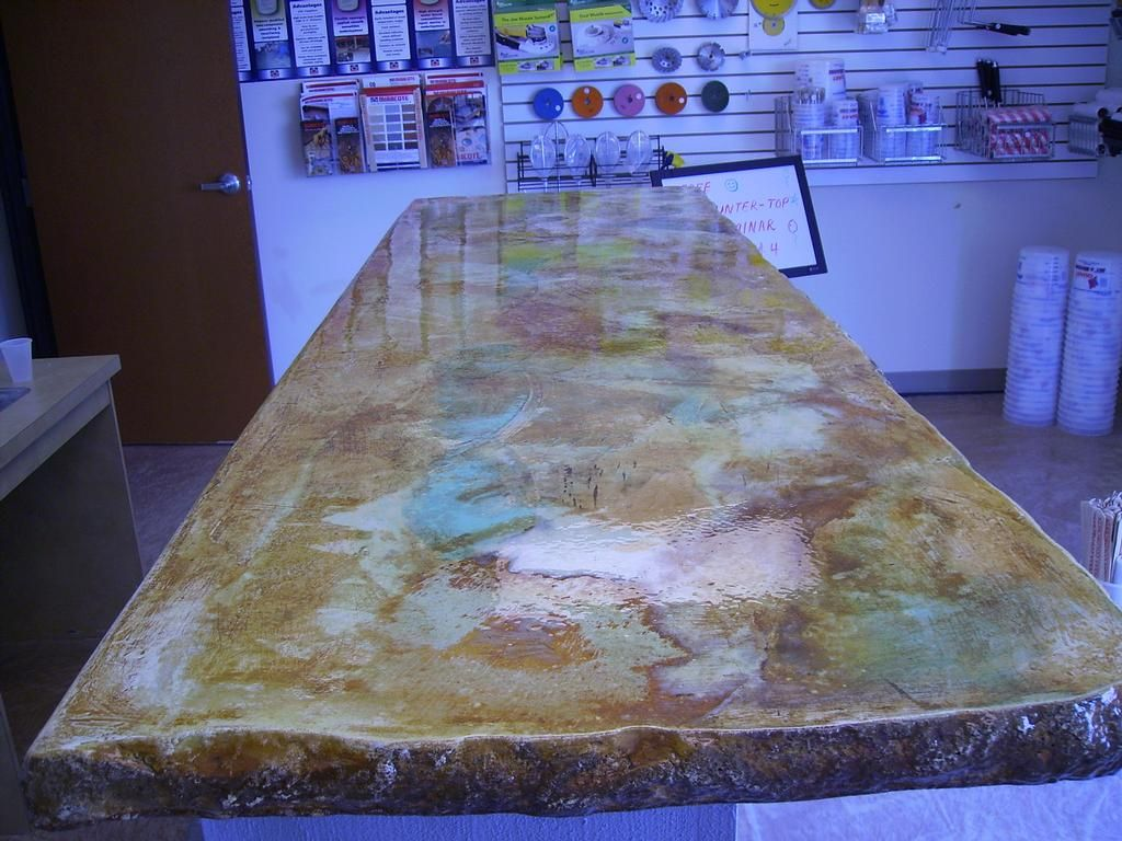 Pin By Monet Cushings On Decor Ideas Stained Concrete