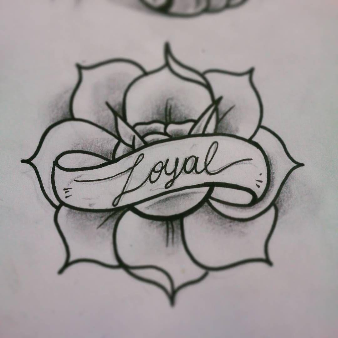 tattoo flash rose loyalty tattoos pinterest tattoo flash tattoo and tatting. Black Bedroom Furniture Sets. Home Design Ideas