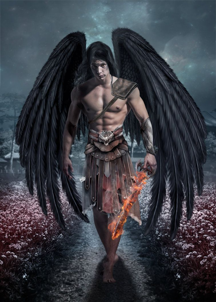 Dark Angel by BARTINERRO on deviantART | Dark angel, Angel warrior, Male  angels
