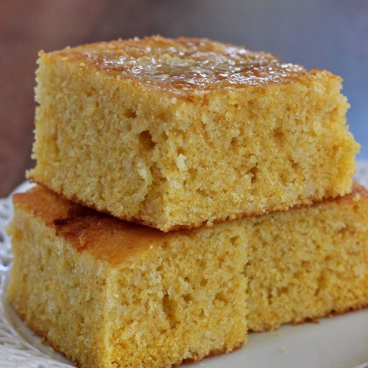 Sweet Buttermilk Cornbread Recipe Yummly Recipe Sweet Cornbread Corn Bread Recipe Baking Recipes