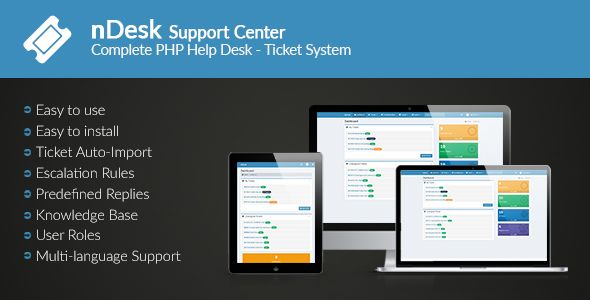 Ndesk Support Center Ticket System Is A Complete Based