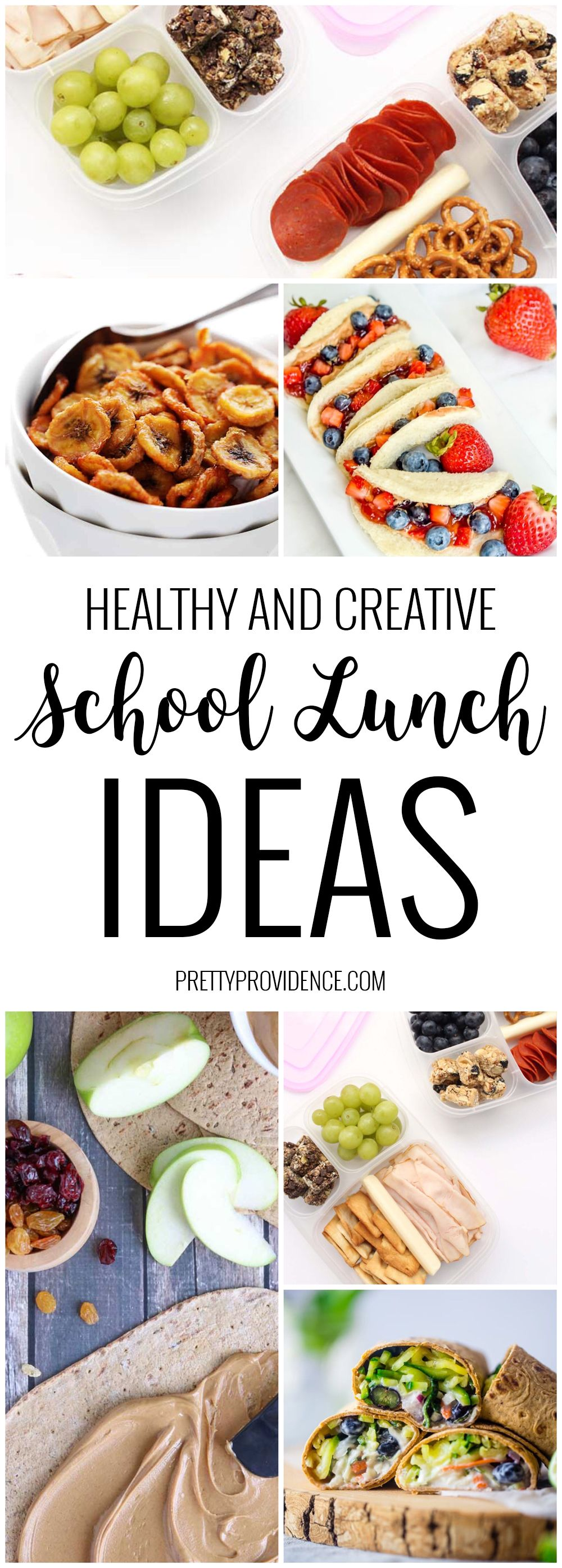Fun, Creative and Healthy Lunch Ideas images