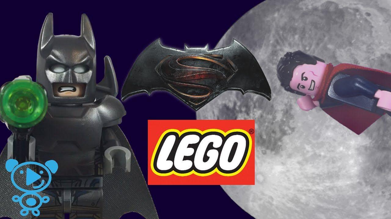 Batman gegen Superman Lego 76044 Super Heroes DC Comics Stop Motion Kind...
