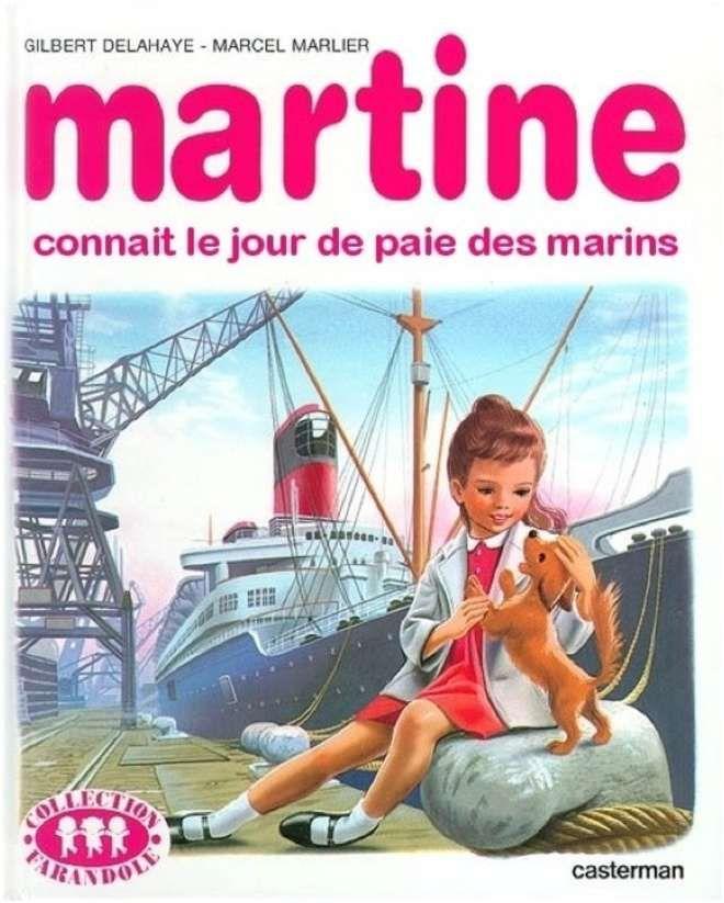 Image result for martine couvertures détournées