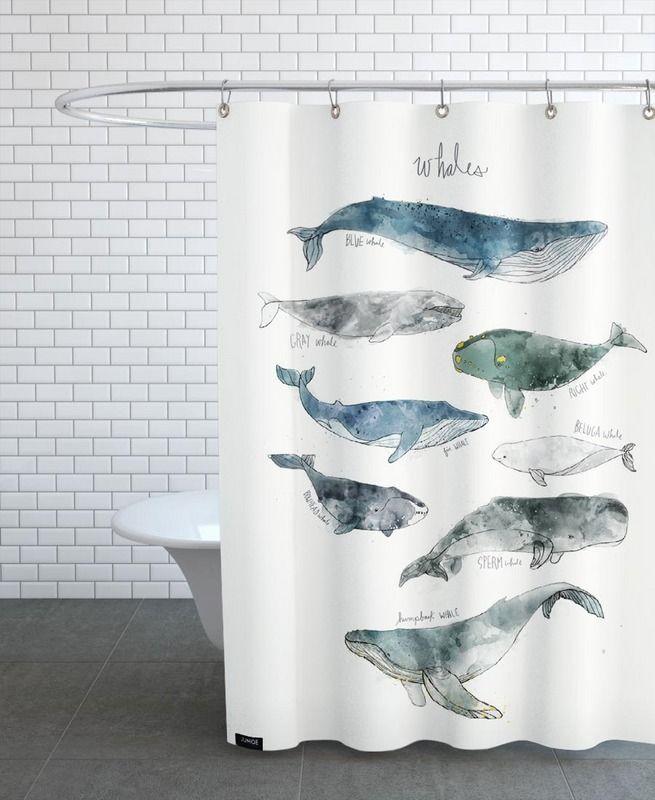 Whales Als Duschvorhang Von Amy Hamilton | JUNIQE