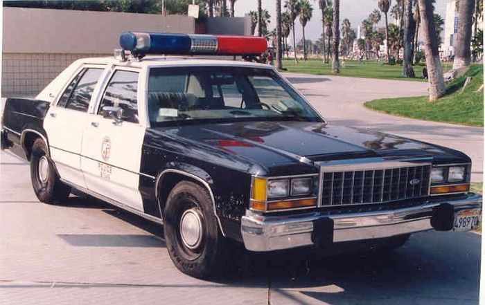 Ca Lapd 1985 Ford Ltd Crown Vic Emergency Vehicles Pinterest