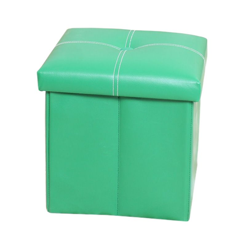 Sensational Best Cross Folding Storage Faux Leather Pouffe Seat Stool Gmtry Best Dining Table And Chair Ideas Images Gmtryco