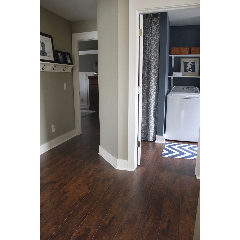Select Surfaces™ Cocoa Walnut Laminate Flooring Various