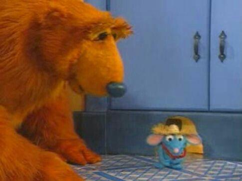 Bear Tutter Big Blue House Muppets Kids Tv Shows