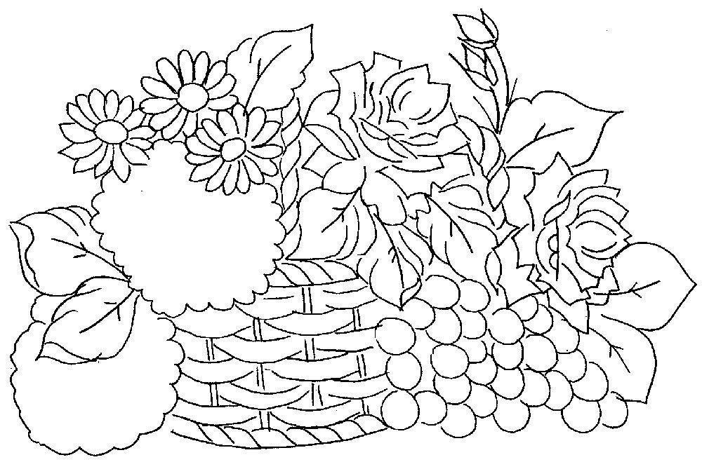Resultado de imagem para pintura em tecido riscos de rosas