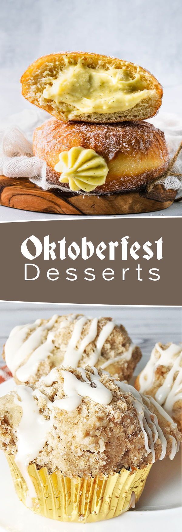 Oktoberfest Recipes: From classic to creative German-inspired recipes to celebrate Oktoberfest #octoberfestfood