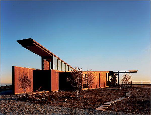 Montecito Residence In Montecito, California By Olson Kundig Architects.  2008