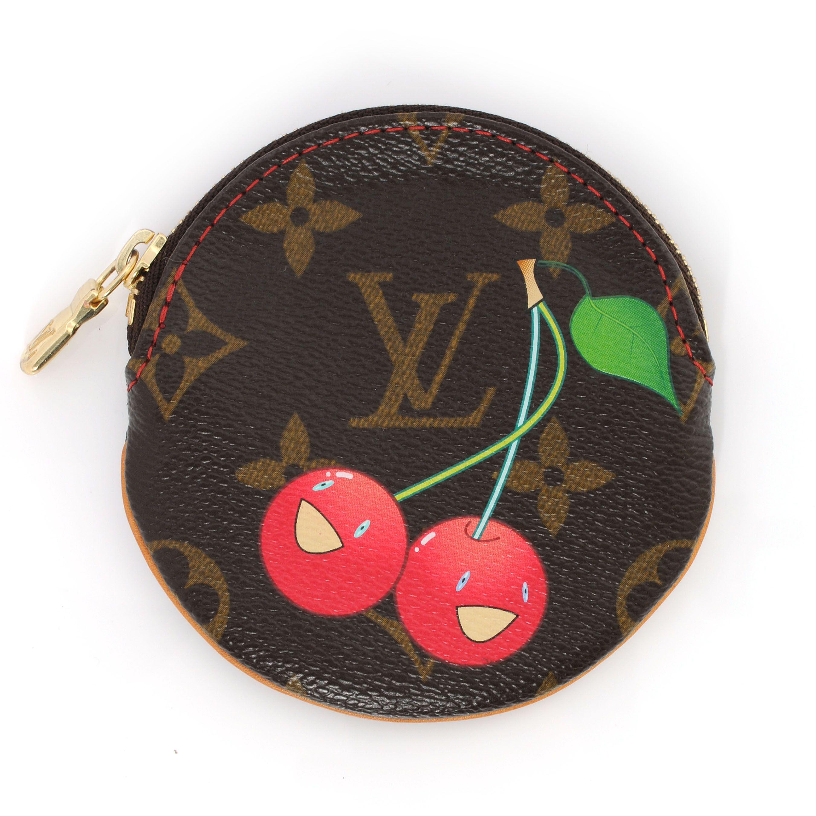 984a941f9ed7d LOUIS VUITTON Monogram Cerises Coin Purse Cles Round | Wish List ...