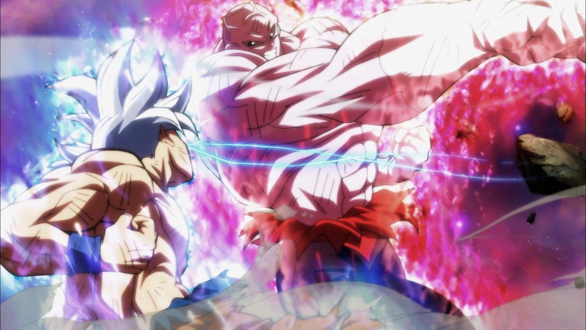 Dragon Ball Dragon Ball Super Son Goku Ultra Instict Mastered Ultra Instinct Jiren Rmehedi Dragon Ball Super Artwork Dragon Ball Super Goku Dragon Ball Super