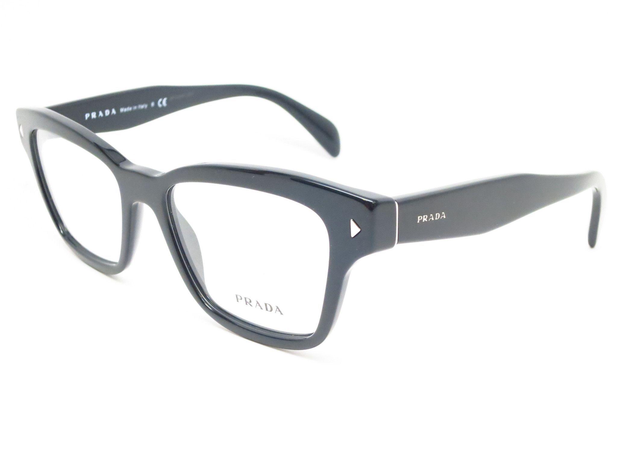 74a9828daded Prada VPR 10S 1AB-1O1 Black Eyeglasses