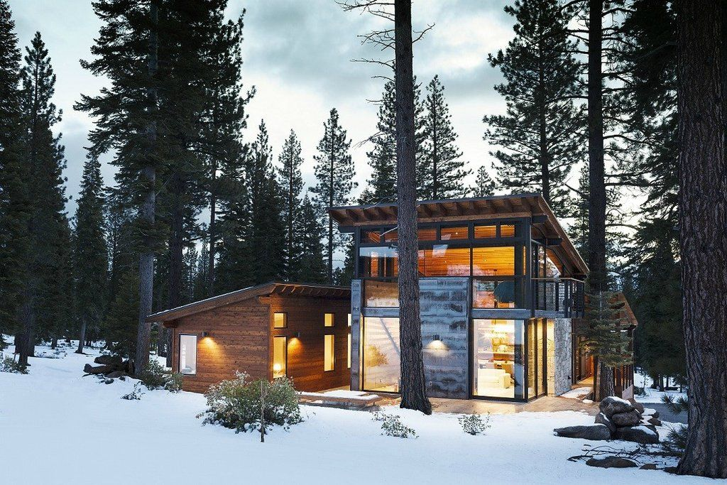Small Cottages Cabins Houses Modern Mountain Home Mountain House Plans Prefab Homes