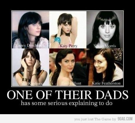 Oh My Gosh I Knew Katy And Zooey Looked Alike But Wow Funny
