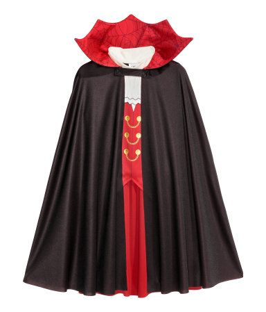 42f0a25b1 Vampire Costume | Black | Kids | H&M US | Miles costume in 2019 ...