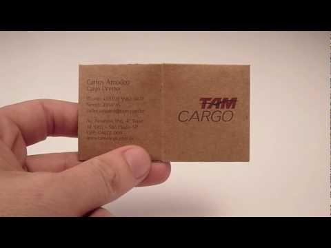 TAM Cargo | Cartão de Visita | Bussiness Card