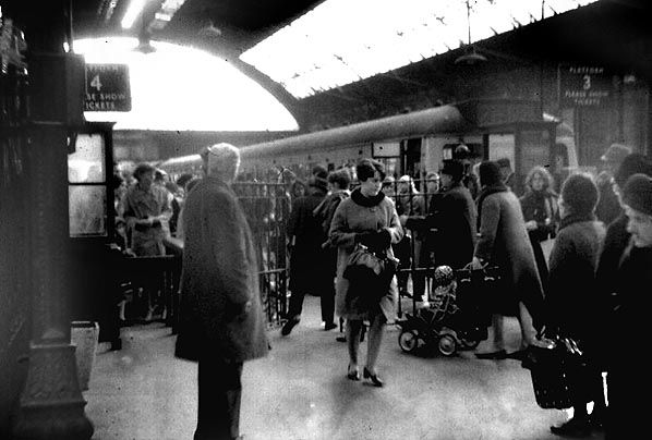 Liverpool Central (High Level) Station late 1960s